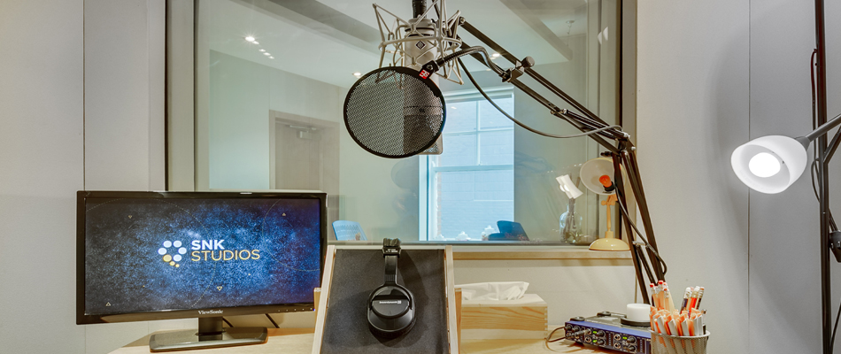 Broadcast PR & ISDN Radio Day studio in Central London